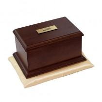 Burford Oak Casket (Mahogany Finish)