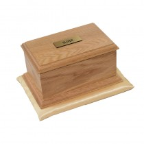 Burford Oak Casket (Natural Finish)