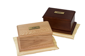Burford Oak Casket